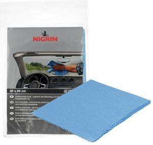 NIGRIN Anti-Beschlag-Tuch (B)280 x (H)280 mm blau