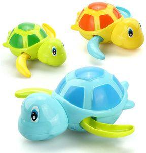 3 Farben Baby Badespielzeug,Baby Bade Bad Schwimmen Badewanne Pool Spielzeug Uhrwerk Schildkröte Schwimmbad Spielzeug