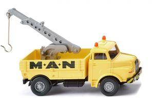 WIKING miniaturfahrzeug MAN-Servicedruckgegossen 1:87 gelb