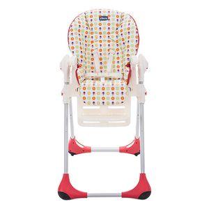 Chicco Polly Easy, Multifunktions-Hochstuhl, Gepolsterter Sitz, Mehrfarben, Muster, 3-Punkt, 15 kg