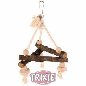 Trixie Natural Living Schaukel am Tau, 16×16×16cm