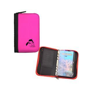 Sub-Base Logbuch Travel 'Delphin' mit Starteinlage , Farbe:pink/rosa