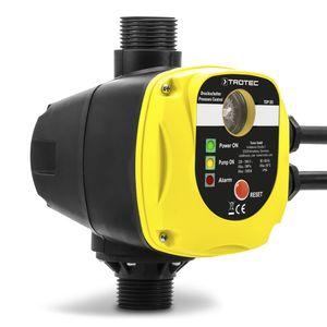 TROTEC Elektronischer Druckschalter TDP DS Pumpensteuerung Druckregler für Hauswasserwerke Wasserpumpen (max. 10 bar) ohne Stecker