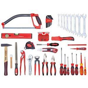 Universalsatz BASIS im Werkzeugkasten. 72-teilig