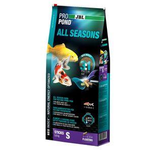 JBL ProPond All Seasons S, Ganzjahresfutter für kleine Koi & Teichfische - 5,8 kg