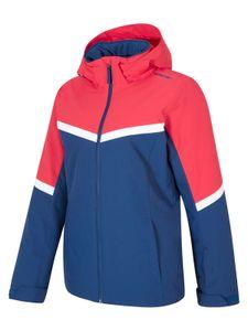 Ziener Damen Ski Jacke Winterjacke trendige Skijacke Palin LADY rot blau, Größe:44
