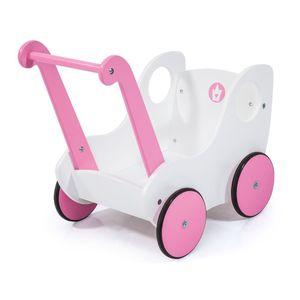Bayer 52401AA, Puppen-Lauflerngerät, Pink, Weiß, Holz, 46 cm