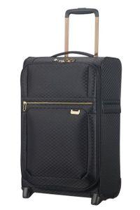 Samsonite Uplite Handgepäckstrolley 55/35 cm Black Gold 747552693 Koffer mit 2 Rollen Weichgepäck