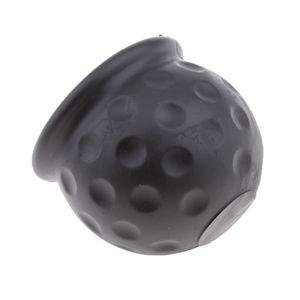 2 Stücke Schwarz Tow Bar Ball Abdeckkappe Anhängerkupplung Abdeckung Schutzkappe für Kugelkopf
