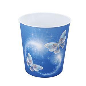 Idena Papierkorb Papiereimer aus PP 9 L Schmetterling