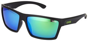UVEX LGL 29 Brille black mat/green