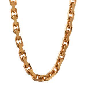 2,0 mm 55 cm 750 - 18 Karat Gelbgold Ankerkette diamantiert massiv Gold hochwertige Halskette 14 g