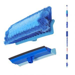 ProPlus Waschbürste Heavy Duty Teleskopgriff 3 M blau