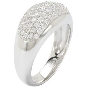 Fossil JF17953 Damen Ring Silber Zirkonia 50 (15.9)