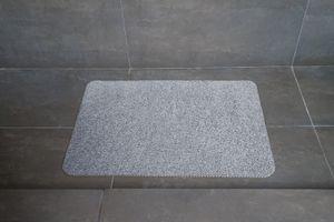 Hydro Wonder® Badezimmer- und Duschmatte - Farbe grau/anthrazit