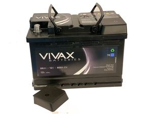 VIVAX Autobatterie Starterbatterie mit Magic Eye 88Ah   12V   800 A    ersetzt 85Ah 90Ah   für Audi VW BMW Ford Fiat Mercedes u.v.m.