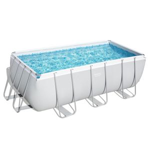 Bestway Power Steel™ Frame Pool Komplett-Set, eckig, 412x201x122cm, 56457
