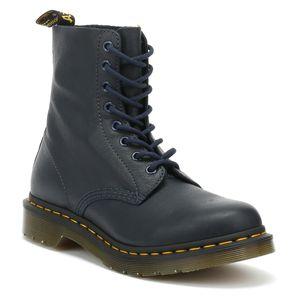 Dr. Martens Pascal Dress Blues Damen Schnürstiefel Boots Stiefel Schuhe Dress Blues Virginia, Größe:36