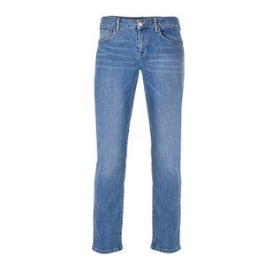 GIN TONIC Damen Slim Fit Jeans, Light Blue Wash, Größe:34/32, Farbe:Light Blue Wash