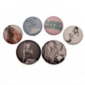 Ariana Grande - Anstecker-Set 6er-Pack TA5994 (Einheitsgröße) (Bunt)