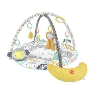 Fisher-Price Äffchen Spieldecke mit Bananen Spielkissen