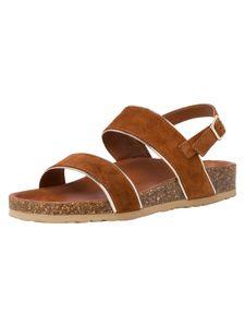Marco Tozzi Damen Sandale braun 2-2-28428-36 F-Weite Größe: 36 EU