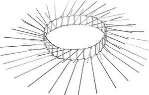Schwegler Katzenabwehrgürtel 70 cm