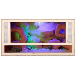 Repiterra Holz Terrarium mit Frontbelüftung 80x40x40 cm