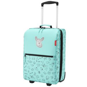 reisenthel trolley XS kids 19 Liter Kindertrolley - cats and dogs mint - mint- Tiermuster