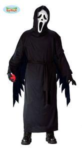 Fiestas Guirca kostüm Halloween Polyester schwarz mt 10-12 Jahre