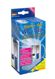 WC-Star – der praktische Speicher für WC-Spülkasten-Hygienesteine