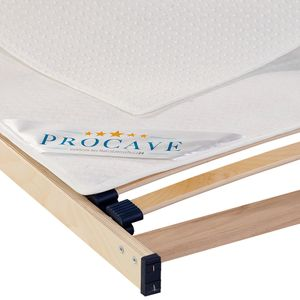 PROCAVE Noppenschoner als waschbare Matratzenunterlage für den Lattenrost in 90x200 cm - idealer Matratzenschoner