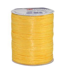 präsent 133-605 Rafia-Bast, gelb (100 m Rolle)