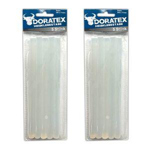 10 Stück Heißklebestäbe Für Heißklebepistole Ø11mm Heißklebestifte Klebestifte Klebestangen Transparent
