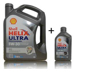 Shell Helix Ultra Professional AG 5W-30 1x5 + 1x1 Liter