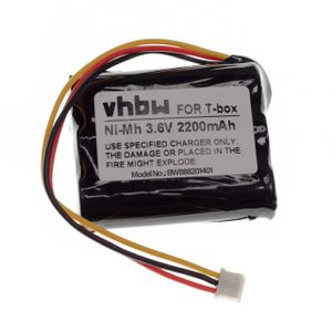 vhbw Akku kompatibel mit tonies Toniebox Lautsprecher Boxen Speaker (2200mAh, 3,6V, NiMH)