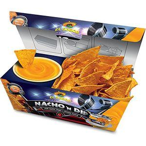 El Sabor Nacho n Dip Cheese Chili Nachos mit Cheese Dip 175g