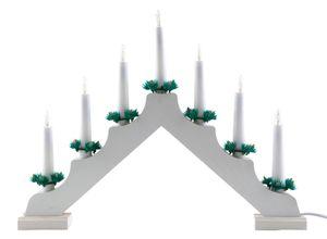 Idena Adventsleuchter mit 7 Kerzenlichtern