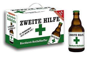 Zweite Hilfe Bierdurst Notfall Koffer im 8er Geschenkkarton (8 x 0.33 l) (6,81 EUR / l)