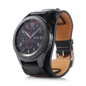 22mm Uhr Armband Leder Strap Uhrenarmband Für Samsung Gear S3 Galaxy Watch 46mm