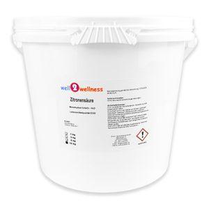 well2wellness Zitronensäure Pulver 10 kg