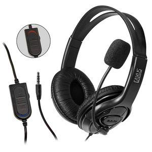 EAXUS® Gaming Headset für Playstation 4 , Playstation 5. Kopfhörer 3,5mm auch für XBOX One, XBOX Series S X, Nintendo Switch,  PS4, PS5