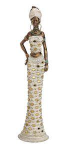 Afrikanerin 33 cm Dekofigur afrikanische Frau