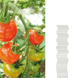 Tomatenspiralstäbe 10 Pflanzstäbe Tomaten 110cm verzinkt
