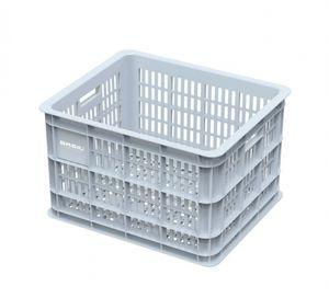 Basil Transportkorb Crate M,33L,Silber,Kunststoff