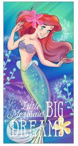 Disney Arielle die Meerjungfrau Dreams Badetuch Strandtuch XL 70x140cmBunt