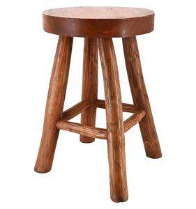 Hocker Teak Holz Hocker Sitzhocker Beistelltisch Holzhocker Garten Schemel Stuhl