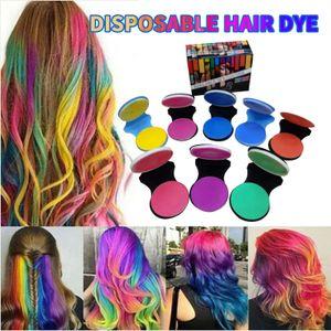 Einweg-8-Farben-Haarfärbemittel, Stift-Haarfärbemittel, Kreide-Haarfärbemittel, Stick-Friseurwerkzeug ZIS210108085
