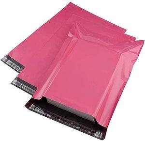 100 Versandumschläge C4, pink, dehnbar wasserabweisend