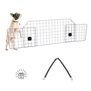 Hundeschutzgitter Kofferraumgitter Schutzgitter Auto Hundegitter Verstellbar